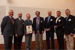 (L to R) Dr Mark Sinclair, Prof Paul Abbott, Prof Roland Bryant, Dr Dan Castagna, Dr Rick Sawers, Dr Gerry Clausen & Dr Patrick Meaney